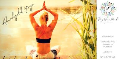 Abendgold Yoga mit Melanie im (T)raum