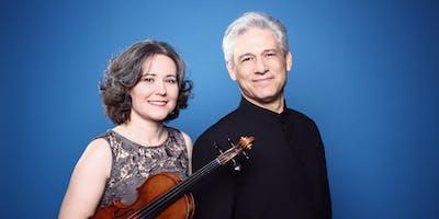 Duo Ingolfsson-Stoupel in der Mendelssohn Remise