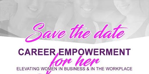 Career Empowerment for Women 2019. Powered by Career Center of the Carolinas