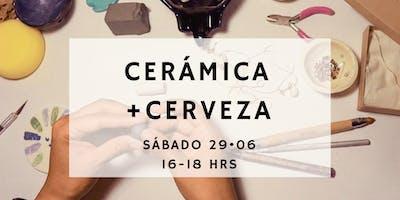 CERÁMICA + CERVEZA