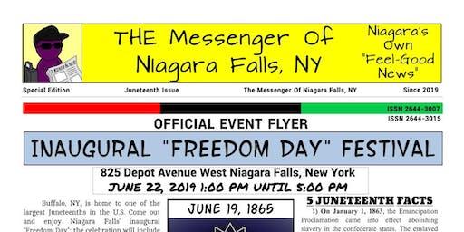 Niagara Falls NY Inaugural Freedom Day Festival