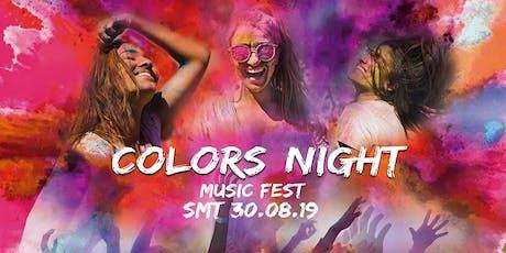 Colors Night Music Fest boletos