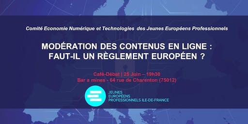 L'UE doit-elle agir sur la modération des contenus en ligne?