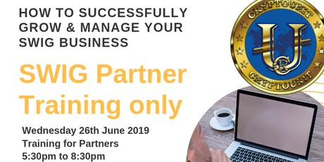 SWIG Perth Partners - How to successfully Grow & Manage Your SWIG Business tickets