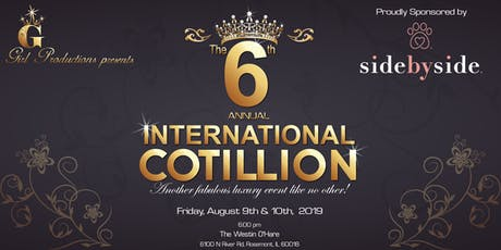 G Girl Productions presents the 6th Annual International Cotillion, Sponsored by Side by Side Pet tickets