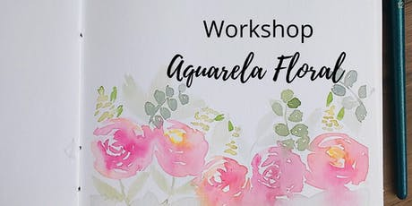 Workshop de Aquarela Floral em Natal ingressos