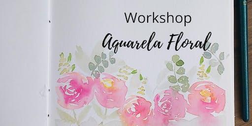 Workshop de Aquarela Floral em Natal