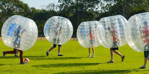 BUBBLE SOCCER IN THE PARK