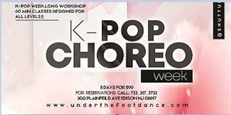 K-Pop Choreo Week tickets