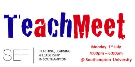 Southampton Education Forum -Teachmeet tickets