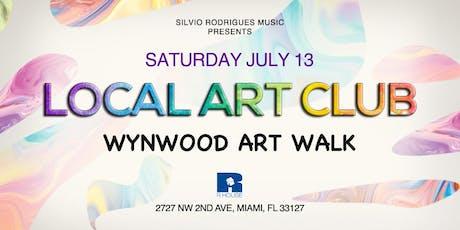 LOCAL ART CLUB | Wynwood Art Walk tickets