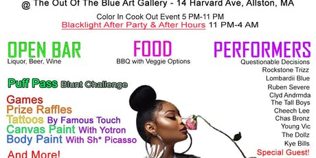The 2nd Annual Color In Cook Out & Black-light After Party tickets