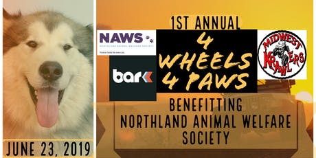 4 Wheels 4 Paws Jeep Krawl Fundraiser tickets