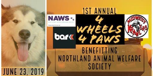 4 Wheels 4 Paws Jeep Krawl Fundraiser