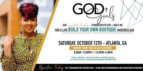 Build Your Own Boutiique LIVE Masterclass tickets