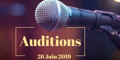 Audition Paris Eden Voices