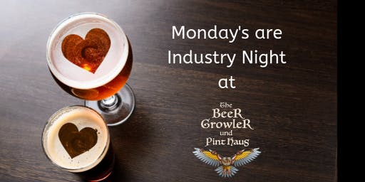 Industry Night at The Beer Growler