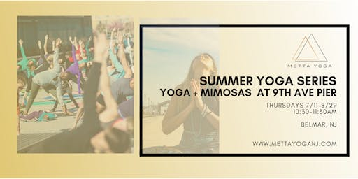 Summer Series: Yoga + Mimosas 9th Ave Pier
