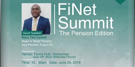 FiNet Summit: The Pension Edition tickets
