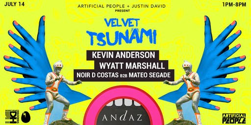Velvet Tsunami Pool Party | SD Pride edition