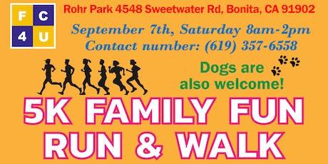 FC4U 2nd Annual 5K Family Fun Day Run/Walk tickets