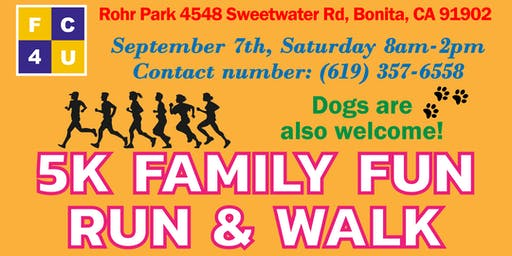 FC4U 2nd Annual 5K Family Fun Day Run/Walk