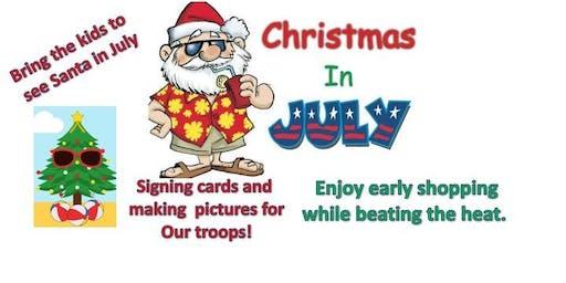 Christmas in July - Christmas Bazaar