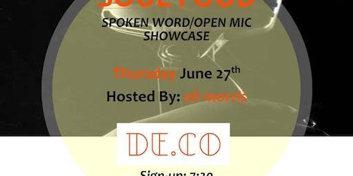 Soul Food Spoken Word/Open Mic Showcase