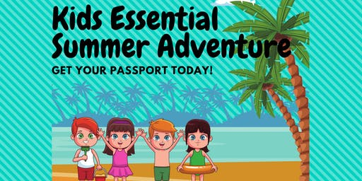 Kids Essential Summer Fun Adventure - Science and Sensory