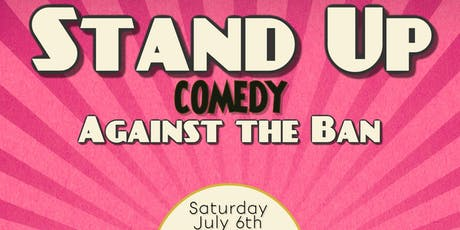 Stand-up Comedy Against the Ban tickets