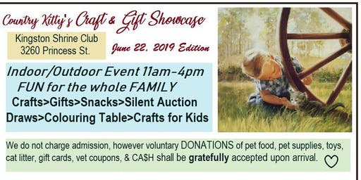 COUNTRY KITTY'S CRAFT & GIFT SHOWCASE