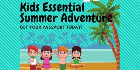 Kids Essential Summer Fun Adventure - DIY Bracelet Diffuser tickets