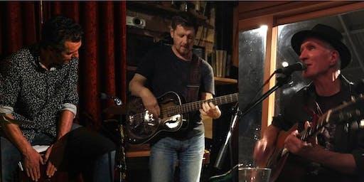 Saturday @ Cafe 121 - Steve Cournane, Stu Grimshaw & Mark Laurent (SSM)
