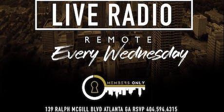 """MembersOnly Presents Karaoke Wednesday"" tickets"