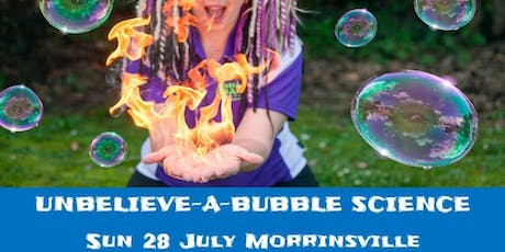 The Unbelieve-a-Bubble Science Show - Morrinsville tickets