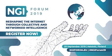 NGI Forum 2019 @ Helsinki billets