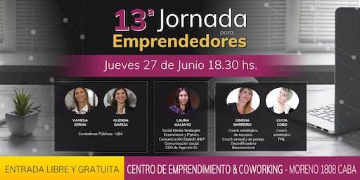 13ra Jornada para emprendedores