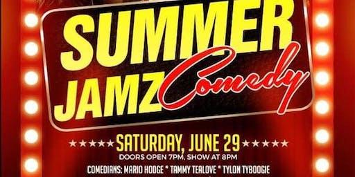 Summer Jamz Comedy live w Suga_T (E40's sisster) Mario Hodge, Tammy TeaLove
