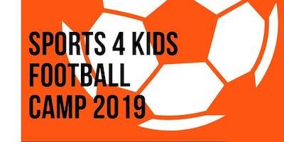 Sports 4 Kids Football Camp