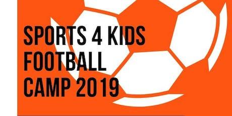 Sports 4 Kids Football Camp tickets