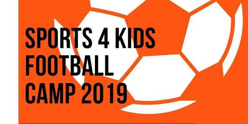 Sports 4 Kids Football Camp