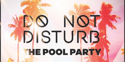 Do Not Disturb The Pool Party!