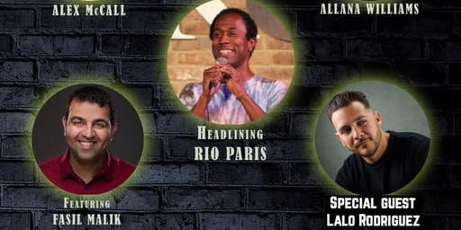 Comedy Night with Rio Paris