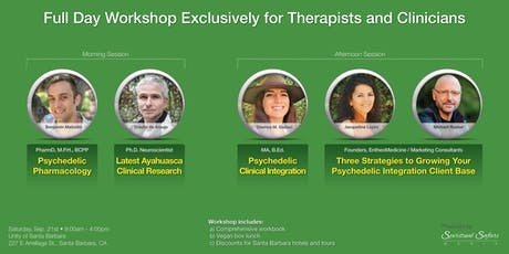 Entheogenic & Psychedelic Integration Workshop for Therapists tickets