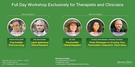 Entheogenic & Psychedelic Integration Workshop for Therapists boletos