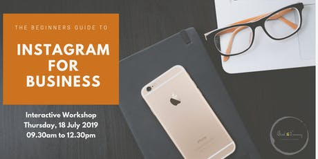 The Beginners Guide to Instagram for Business tickets