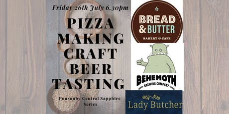 SOURDOUGH PIZZA MAKING & CRAFT BEER TASTING tickets