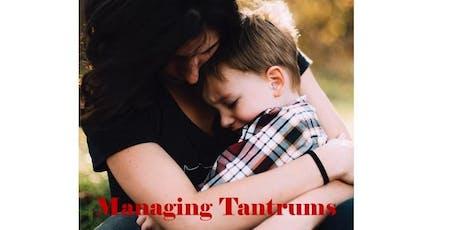 Managing Tantrums tickets