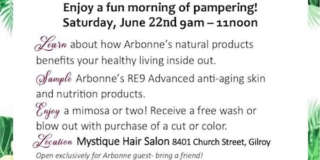 Arbonne & Mimosa's tickets