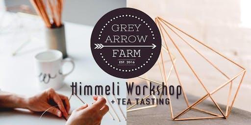 Himmeli Workshop at Grey Arrow Farm